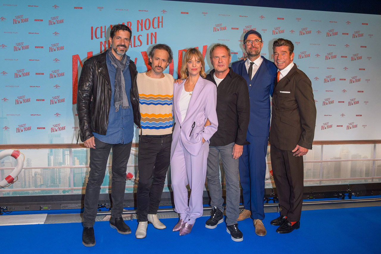 Universal Film Kinopremiere ´Ich war noch niemals in New York´ nach Udo Jürgens